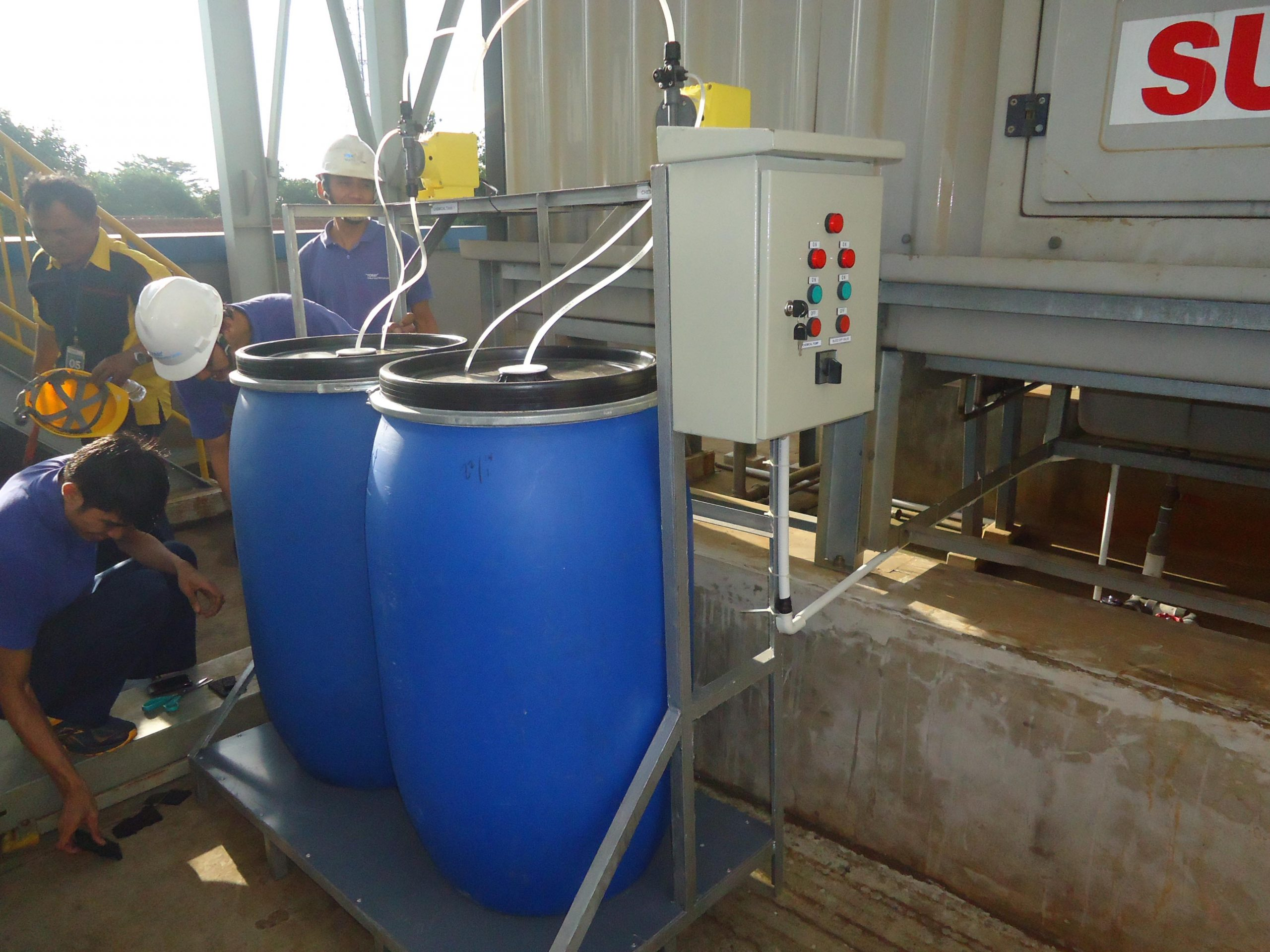Water Treatment - Chemical Dosing System