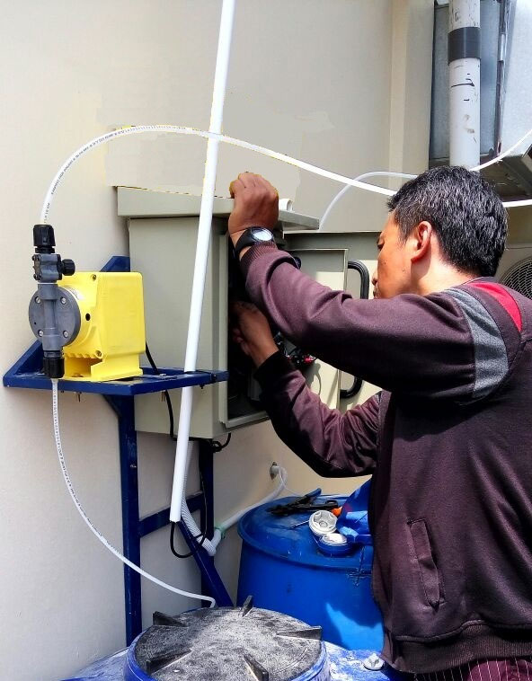 Water Treatment Chemicals - Semi Automatic Bleed-Off System
